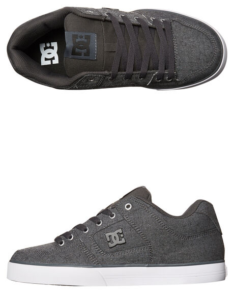 GREY ASH MENS FOOTWEAR DC SHOES SNEAKERS - 320423GRA