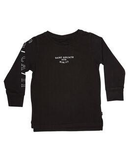 BLACK KIDS TODDLER BOYS ST GOLIATH TEES - 2813007BLK