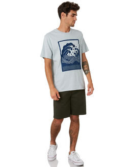 RECYCLED DENIM MENS CLOTHING OUTERKNOWN TEES - 21457RDN