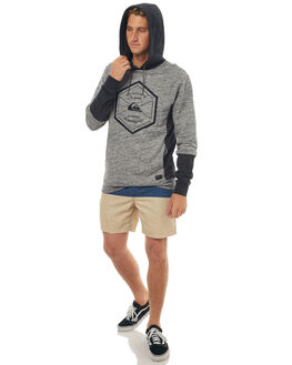 LIGHT GREY MENS CLOTHING QUIKSILVER JUMPERS - EQYFT03720SGRH