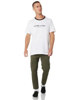 WHITE MENS CLOTHING LOWER TEES - LO19Q1MTS06WHT
