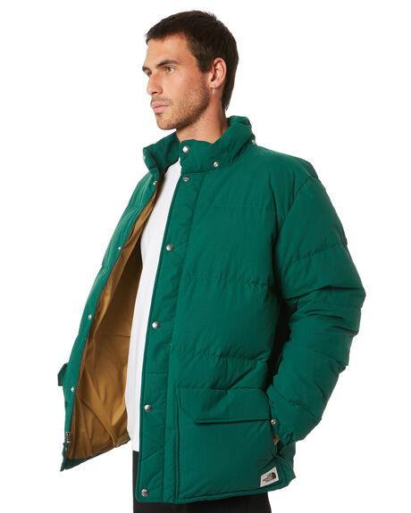 GREEN BRITISH KHAKI MENS CLOTHING THE NORTH FACE JACKETS - NF0A48LCEN5