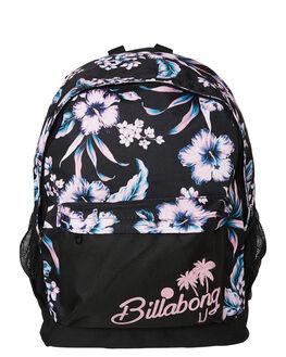 BLACK WOMENS ACCESSORIES BILLABONG BAGS + BACKPACKS - 6682013BLK