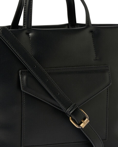 BLACK WOMENS ACCESSORIES URBAN ORIGINALS BAGS + BACKPACKS - 67-0044BLK