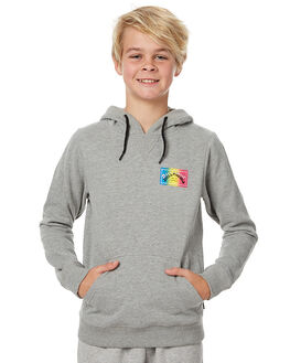 GREY MARLE KIDS BOYS BILLABONG JUMPERS - 8575619GRY