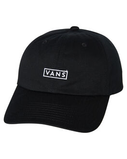 BLACK MENS ACCESSORIES VANS HEADWEAR - VNA36IUBLKBLK
