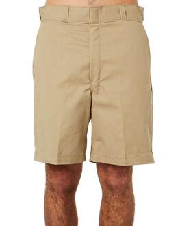 KHAKI MENS CLOTHING DICKIES SHORTS - 42-234KHA