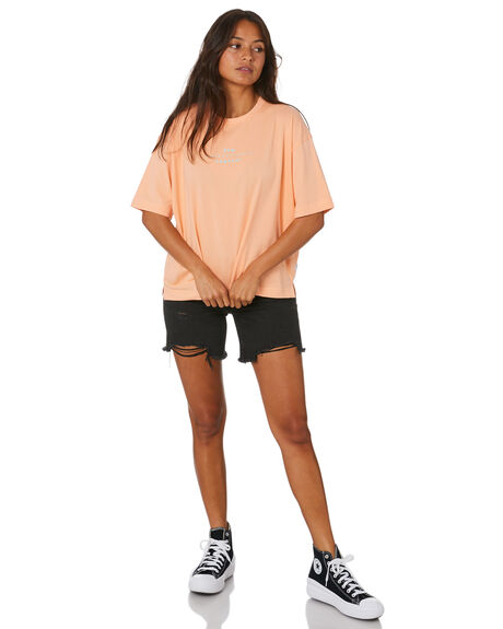 PEACH WOMENS CLOTHING RPM TEES - 20SW04APCH