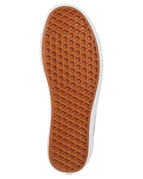 BLACK TRUE WHITE WOMENS FOOTWEAR VANS SNEAKERS - SSVNA3DZ3HTMBLKW