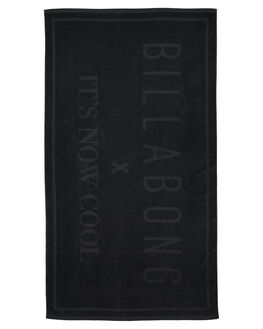 BLACK MENS ACCESSORIES BILLABONG TOWELS - 6682727MABLK