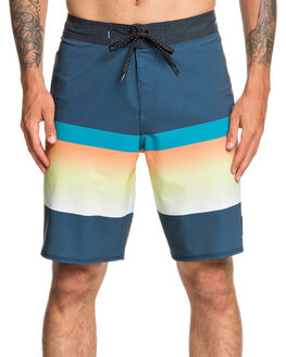 MAJOLICA BLUE MENS CLOTHING QUIKSILVER BOARDSHORTS - EQYBS04328-BSM6