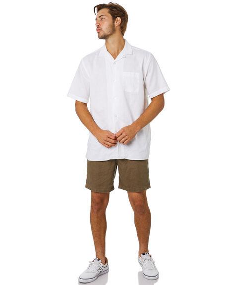 OLIVE MENS CLOTHING ACADEMY BRAND SHORTS - 20S609OLI