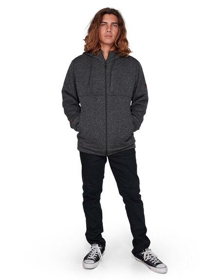 BLACK HEATHER MENS CLOTHING BILLABONG HOODIES + SWEATS - BB-9595624-BLH
