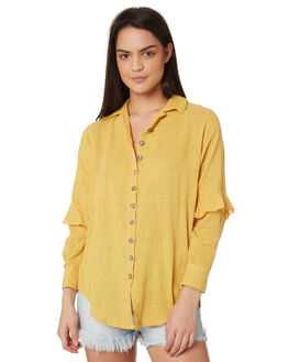 GOLD WOMENS CLOTHING SAINT HELENA FASHION TOPS - SHS19120GGOL