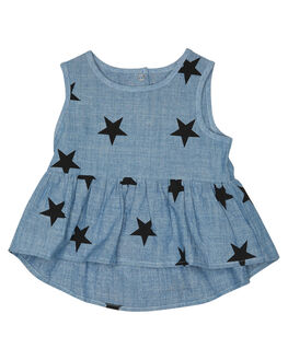 CHAMBRAY KIDS BABY TINY TRIBE CLOTHING - TTS17-11046ACHY