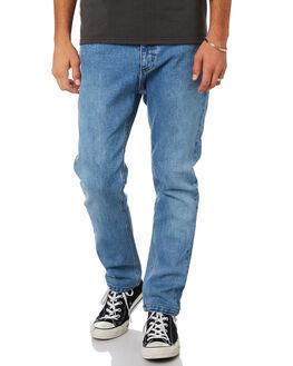 TRUCKER BLUE MENS CLOTHING THRILLS JEANS - TDP-419ETTBLU
