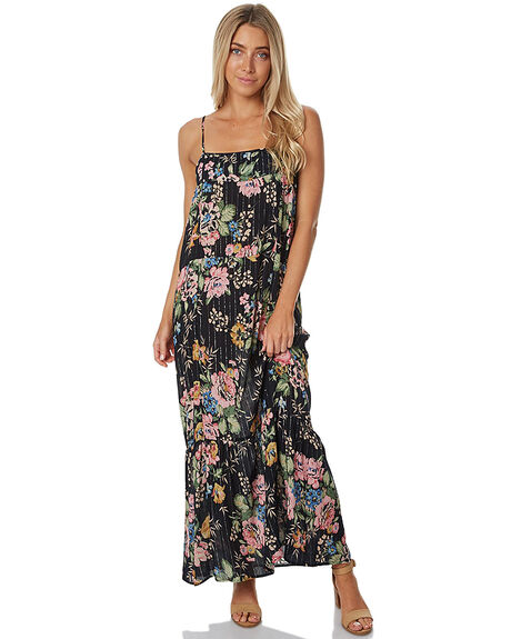 DELILAH BLK WOMENS CLOTHING AUGUSTE DRESSES - AUG-HN1-17134-DBB