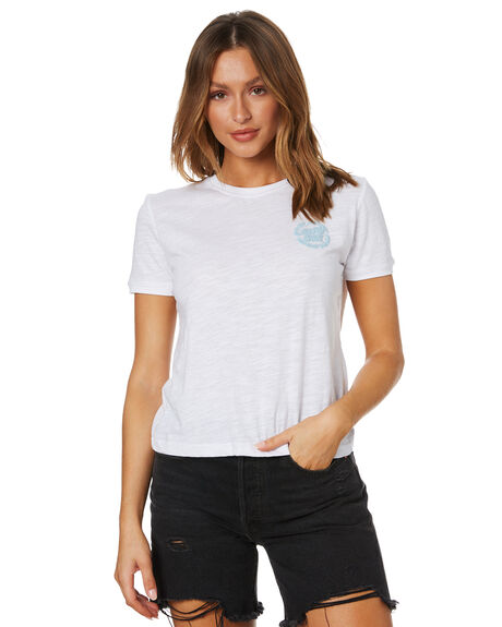 WHITE MARLE WOMENS CLOTHING SANTA CRUZ TEES - SC-WTD0279WMRL