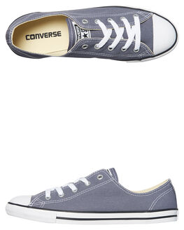 CARBON WOMENS FOOTWEAR CONVERSE SNEAKERS - 559833CAR
