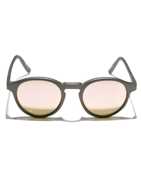 MATTE GREY ROSEGOLD WOMENS ACCESSORIES ROXY SUNGLASSES - ERJEY03072XSSN