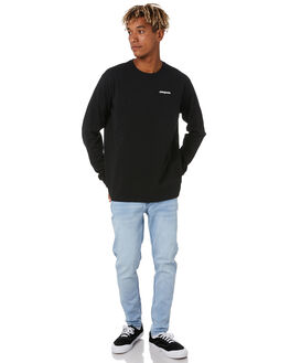 BLACK MENS CLOTHING PATAGONIA TEES - 38518BLK