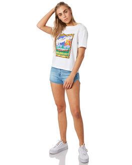 WHITE WOMENS CLOTHING WRANGLER TEES - W-951505-060