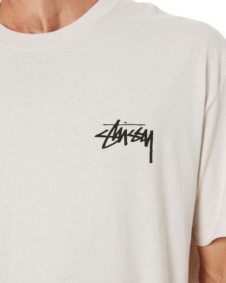 WHITE SAND MENS CLOTHING STUSSY TEES - ST001003WTS