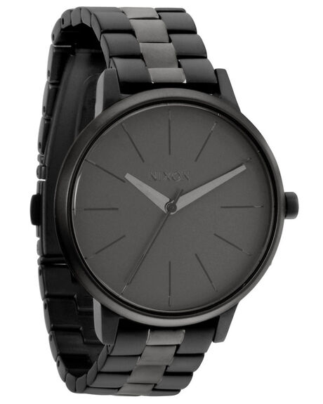 MATTE BLACK MATTE GUNMETAL MENS ACCESSORIES NIXON WATCHES - A0991062