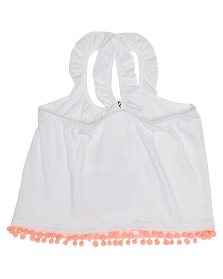 WHITE KIDS GIRLS EVES SISTER TOPS - 8021042WHT