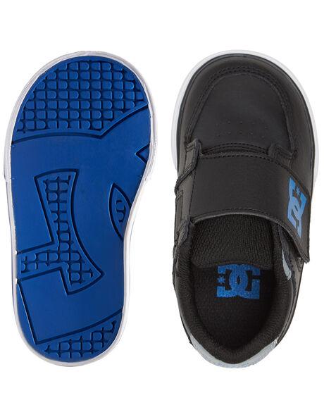 BLACK/GREY/BLUE KIDS BOYS DC SHOES SNEAKERS - ADTS300022-XKSB