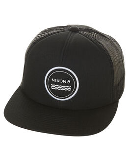 BLACK MENS ACCESSORIES NIXON HEADWEAR - C2740000