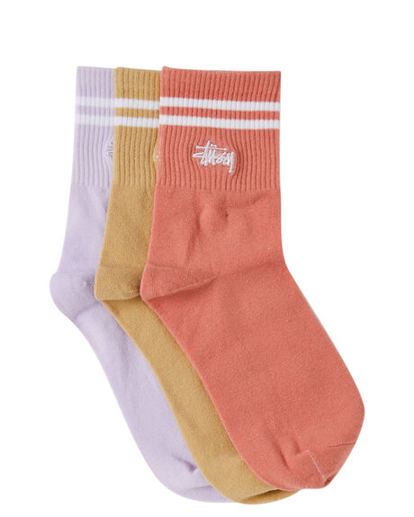 MULTI WOMENS CLOTHING STUSSY SOCKS + UNDERWEAR - ST712016MUL