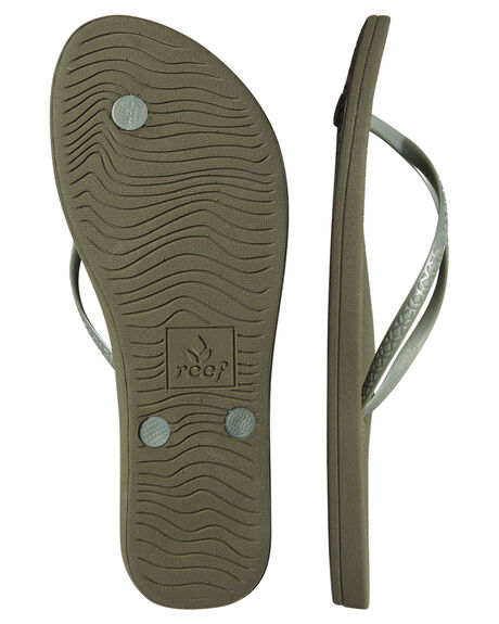 OLIVE WOMENS FOOTWEAR REEF THONGS - A2YFKOLIV