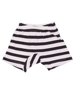 BLACK CREAM STRIPE KIDS BABY MUNSTER KIDS CLOTHING - MI162TR01SBLKCS