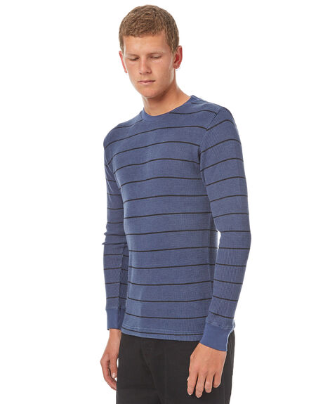 INDIGO MENS CLOTHING RVCA JUMPERS - R371094IND