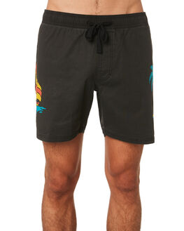 f43a10813a9 DIRTY BLACK MENS CLOTHING BANKS BOARDSHORTS - BS0176DBLK ...