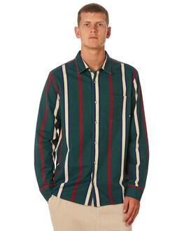 BOTTLE MENS CLOTHING STUSSY SHIRTS - ST091404BOT