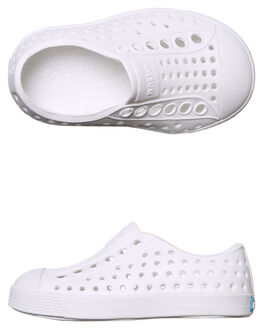 SHELL WHITE KIDS TODDLER GIRLS NATIVE FOOTWEAR - 13100100-1999