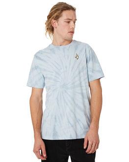 PALE BLUE MENS CLOTHING VOLCOM TEES - A4341971PAB