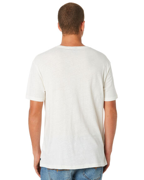 WHITE OUTLET MENS RUSTY TEES - TTM2248WH1