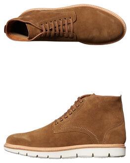 TAN MENS FOOTWEAR URGE BOOTS - URG16171TAN