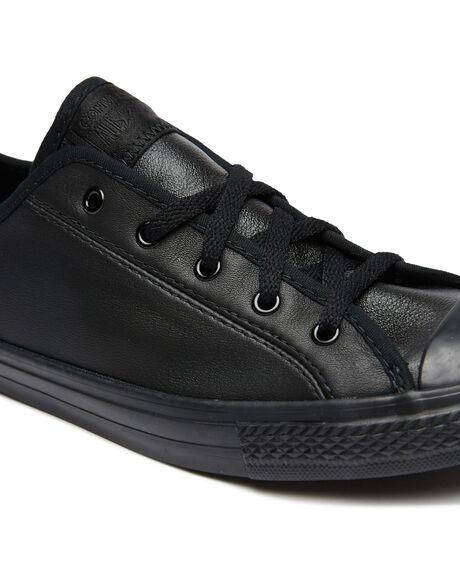 BLACK WOMENS FOOTWEAR CONVERSE SNEAKERS - 564986CBLK