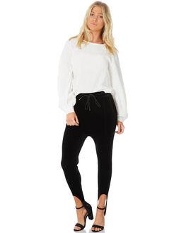 BLACK WOMENS CLOTHING C&M CAMILLA AND MARC PANTS - RCMP4242BLK