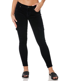 VINTAGE BLACK WOMENS CLOTHING RUSTY PANTS - PAL1107VBL