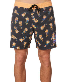 ORANGE OUTLET MENS MISFIT BOARDSHORTS - MT091610ORA