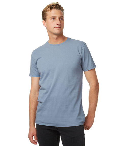 CADET BLUE OUTLET MENS SWELL TEES - S5164003CBLU
