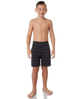 BLACK KIDS BOYS HURLEY SHORTS - AO2206010