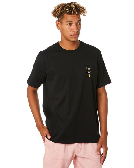 BLACK OUTLET MENS BARNEY COOLS TEES - 126-CC3BLK