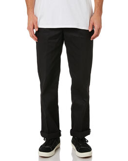BLACK MENS CLOTHING DICKIES PANTS - DCK874BLK