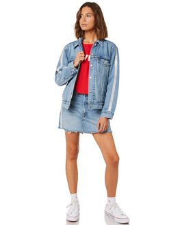 DIAMOND IN THE ROUGH WOMENS CLOTHING LEVI'S JACKETS - 72749-0000DIA